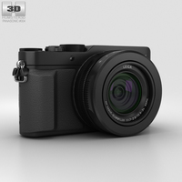 Panasonic Lumix DMC-LX100 Black 3D Model