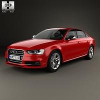 Audi S4 2013 3D Model
