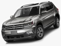 Volkswagen Atlas Teramont 2017 3D Model
