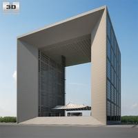Grande Arche 3D Model