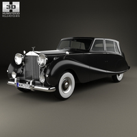 Rolls-Royce Silver Wraith Touring Limousine 1955 3D Model