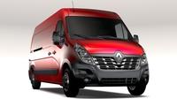 Renault Master L3H2 Van 2017 3D Model