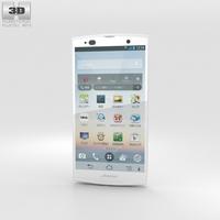 Fujitsu Arrows A 202F White 3D Model
