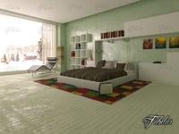Bedroom 17 3D Model