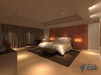 Bedroom 21 3D Model