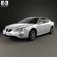 Pontiac Grand Prix GTP 2004 3D Model