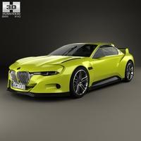 BMW 3.0 CSL Hommage 2015 3D Model