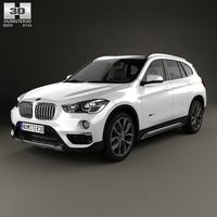BMW X1 (F48) 2015 3D Model