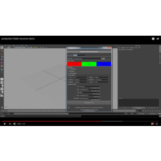 Folder Management for Animation Production pipeline 1.1.0 for Maya (maya script)