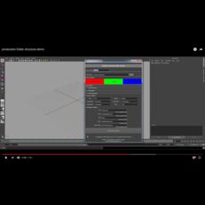 Folder Management for Animation Production pipeline 1.1.0 for Maya (maya script)