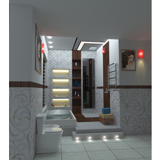 interior bathroom design 3D Model
