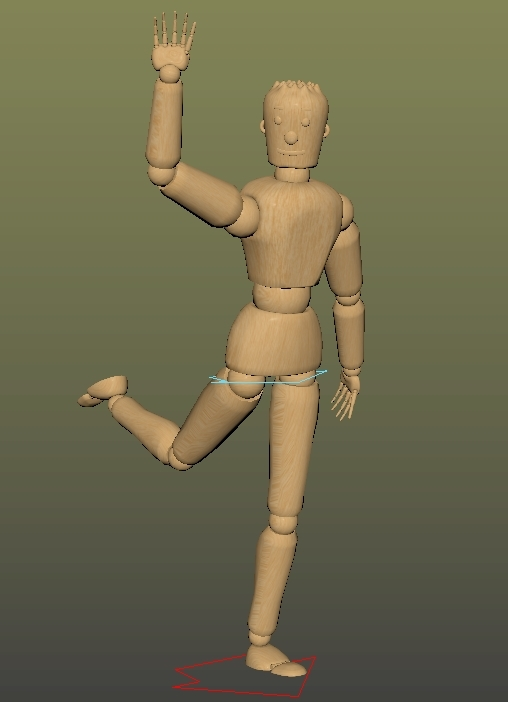 Woodman rig for Maya - Free Character Rigs Downloads for Maya