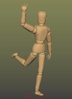 Free Woodman rig for Maya 1.0.0