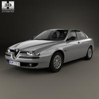 Alfa-Romeo 156 1997 3D Model