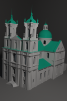 Farny Church 3D Model