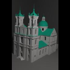 Farny Church 3D Model