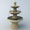 Fountain 3D Model