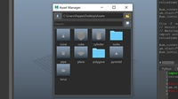 Asset Manager 1.0.1 for Maya (maya script)