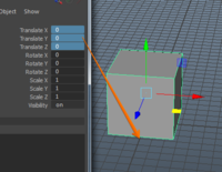 Free Zero position and move back. ground dropping for Maya 1.0.0 (maya script)