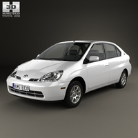 Toyota Prius 2000 3D Model