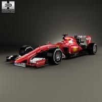 Ferrari SF15-T 2015 3D Model