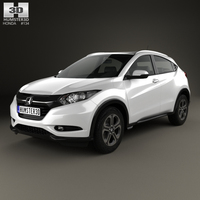 Honda HR-V EX-L (BR) 2015 3D Model