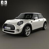 Mini Cooper 5-door 2014 3D Model