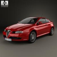 Alfa Romeo GT 2004 3D Model