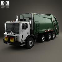 Mack TerraPro Garbage Truck 2007 3D Model