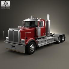 Western Star 4900 EX Tractor Truck 2008 3D Model