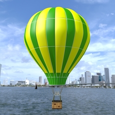 Balloon Air hot 3D Model