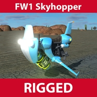 FW1 Skyhopper 3D Model