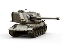 AMX-30 GCT-155 SpH 3D Model