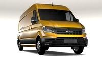 MAN TGE Van L3H2 2017 3D Model
