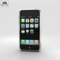 Apple iPhone (1st gen) Black 3D Model