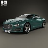 Bentley EXP 10 Speed 6 2015 3D Model