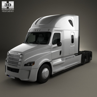 Freightliner Inspiration Tractor Truck 2015 3D Model