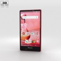 Sharp Aquos Ever SH-04G Pink 3D Model