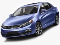 Generic Compact Sedan 3D Model