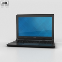 Dell Chromebook 11 (2015) 3D Model