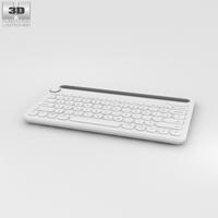 Logitech K480 White 3D Model
