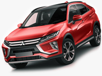 Mitsubishi Eclipse Cross 2018 3D Model