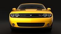 Dodge Challenger RT Scat Pack Widebody 2017 3D Model