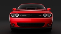 Dodge Challenger RT Shaker Widebody 2017 3D Model