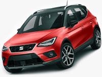Seat Arona 2018 3D Model