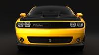 Dodge Challenger TA 392 2017 3D Model