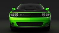 Dodge Challenger TA 2017 3D Model