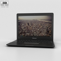 Hisense Chromebook Black 3D Model