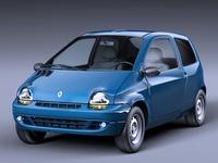 Renault Twingo 1993 3D Model