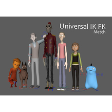 Universal IK FK Switch and Match Tool (PRO) 2.0.0 for Maya (maya script)